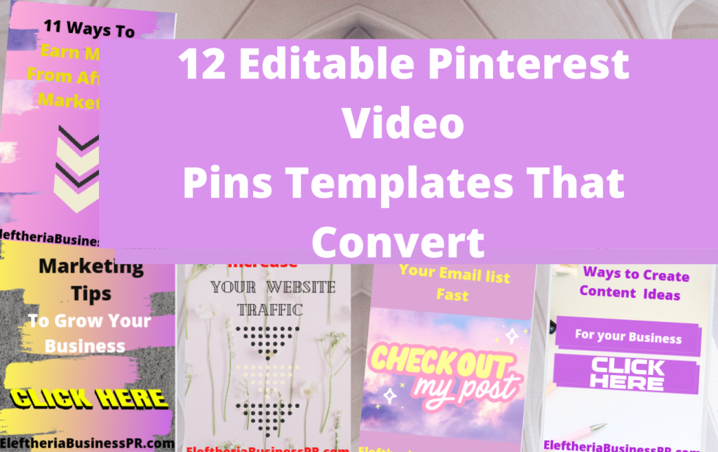 Canva training video pins/canva free templates/pinterest marketing course/pinterest strategy